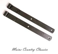 Hinges For Barn Doors by Pair Of Vintage 17 Inch Cast Iron Strap Hinges Barn Door Or Gate