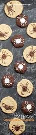 creepy crawly halloween chocolate chip spider cookies ella claire