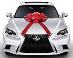 new car gift bow car bow etsy