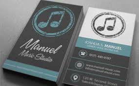 Business Card Music Can You Create A Business Card Design For A Music Education