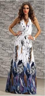 maxi kjole hvid maxi kjole med blomster