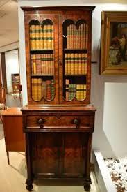 Antique Curio Cabinet With Desk Antique Curio Cabinet Antique Furniture And Accessories