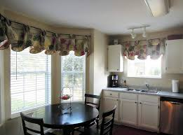 curtain ideas for dining room dining room curtains valances glamorous bay window decor ideas