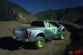 Ford F150 Truck Wraps - grid off road ford f 150