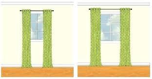 Standard Curtain Panel Width Standard Curtain Panel Width Sizes Size Of Window