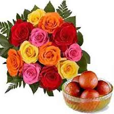 flowers to india flowers to india bouquet delivery in india mix roses to india