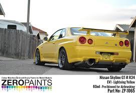 nissan gt r 1970 2015 paints 60ml zp 1065 zero paints