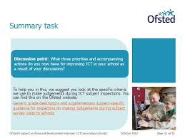 slide 1 of 32 ofsted u0027s subject professional development materials