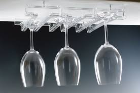 furniture chic wine glass rack with upscale wine glass holders