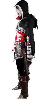 Assassins Creed Kid Halloween Costume Assassin U0027s Creed 2 Ii Cosplay Ezio Costume Black Edition Geek