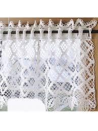best 25 crochet curtain pattern ideas on pinterest crochet