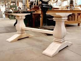 Pedestal Bases For Dining Tables Wood Pedestal Table Base Kits Wood Pedestal Dining Table Bases