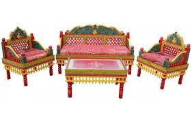 traditional hand carved classic sofa set 3 pcs 1 sofa u0026 2 chairs