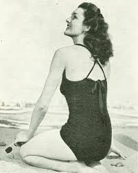 swimwear knitting patterns available from the vintage