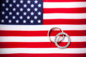 washington dc wedding bands wedding band display on an american flag background photo by