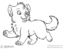 free printable cute baby wolf coloring pages voteforverde