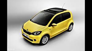 volkswagen up yellow skoda citigo 5 door