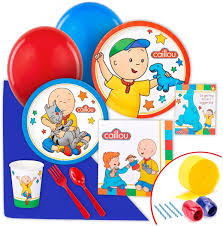 caillou party supplies partybell caillou value partypack kids party themes