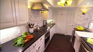 Before And After White Kitchen Cabinets Kitchen Makeover Pictures Kitchen Remodeling And Design Ideas Hgtv