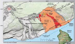 Hawaii Lava Flow Map Triplemultiplex Com Follow My Travels Across This Great Terrible