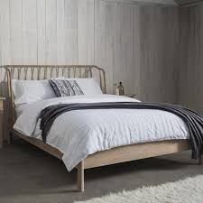 Hudson Bedroom Furniture by Hutch Wycombe Nordic Oak 5ft Bed Frame By Frank Hudson