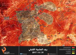 Syria Map by Syria Map Update Detailed Overview Of East Salamiyah Offensive