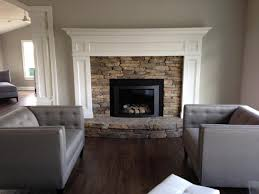 indoor fireplaces dutchies stone works modern home with stone fireplace and gas insert