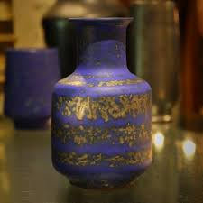 Bauer Vase Art Pottery Leo Design