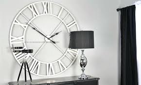 oversized wall clocks for your rooms stanleydaily com
