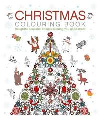 christmas colouring book arcturus publishing colour claire
