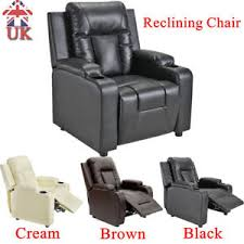 Cinema Recliner Sofa Leather Recliner Sofa Armchair Comfortable Reclining Seat Cinema