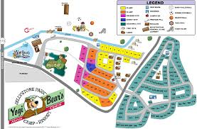 Blossom Music Center Map Akron Area Camping In Ohio Camping Ohio Yogi Bear U0027s Jellystone