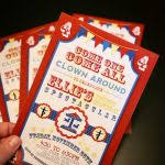 themed invitations carnival theme party invitations designs agency