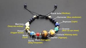 natural stone beaded bracelet images Universe planet guardian star natural stone bead space bracelet jpg