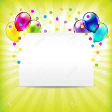 5 blank birthday invitations jpg vector eps ai illustrator