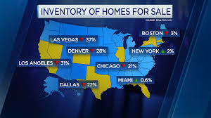 Realtor Com Map Low Inventory May Take Bloom Off Spring Home Sales