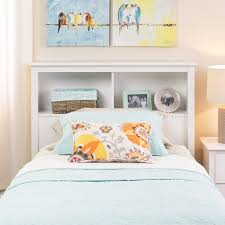 winslow white twin bookcase headboard free shipping today