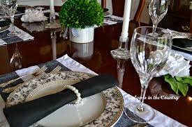 jacqueline kennedy inspired table setting calypso in the country