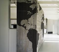 Wooden World Map Wall Art by Wood Plank Wall Map Concept U2022 Squishy Lemons