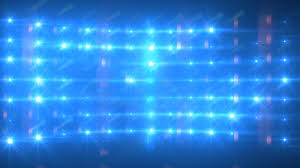 blue lights concert stage sports stadium background stock