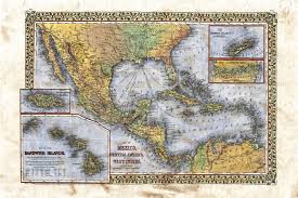 Map Of West Indies New Map Monday Mitchell U0027s Map Of Mexico Central America And The