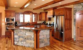 timber kitchen designs mullet cabinet rustic kitchen cabinets in timber frame home