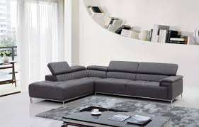 Modern Leather Sofa With Chaise Modern Leather Sofa Brown Italian Article Sven Bonded