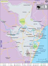 Lima Map Recife Map City Map Of Recife Brazil
