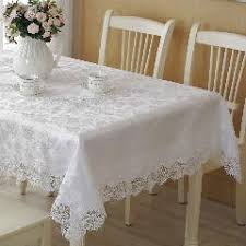 wedding table covers white polyester satin lace tablecloth wedding table cloth