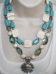 big chunky necklace images Chunky turquoise cowgirl statement necklace by 123gemstones on zibbet jpg