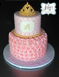 wonderful baby shower cakes with crowns 25 in easy baby shower