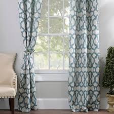 Gray And Teal Curtains Teal Teemu Curtain Panel Set 96 In Kirklands