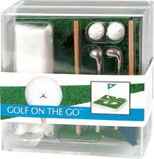 mini golf bureau miniatur golf box m green präsente werbeartikel geschenkidee