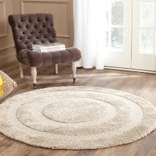safavieh adirondack ivory silver 8 ft x 8 ft round area rug